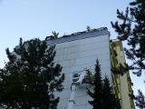 Fassadenreinigung eines Hochhauses in Erlangen