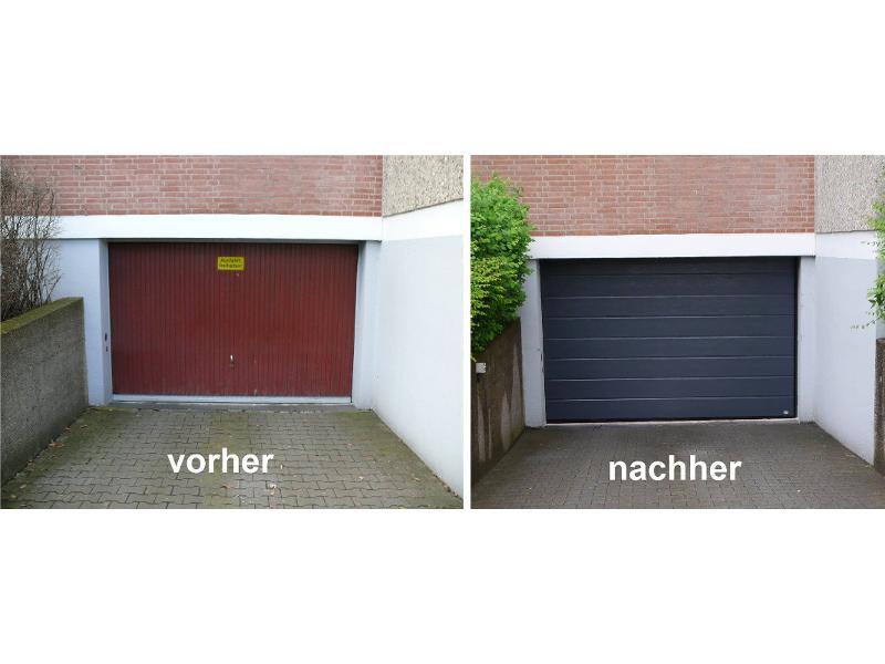 Neues Tiefgaragentor in Nürnberg