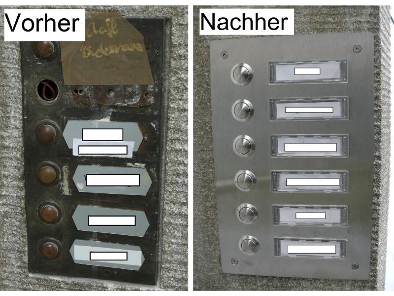 Erneuerung der Klingelanlage in Herzogenaurach